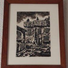 Arte: PUEBLO EXTREMEÑO. ALIENDE. 1980. Lote 278454938