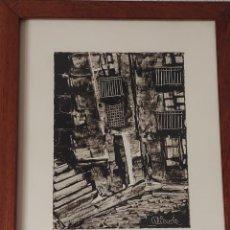 Arte: PUEBLO EXTREMEÑO. ALIENDE. 1980. Lote 278456118