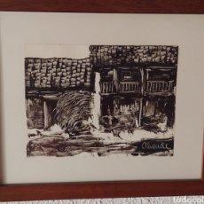 Arte: PUEBLO EXTREMEÑO. ALIENDE. 1980. Lote 278456788