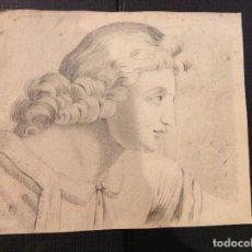 Arte: ANÓNIMO. RETRATO DE JOVEN. 1678. Lote 279352078