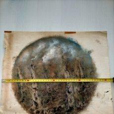 Arte: DIBUJO A CERA Y OLEO - ARTISTA DESCONOCIDO A IDENTIFICAR REF:34. Lote 280303053