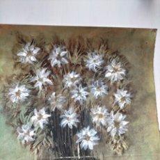 Arte: DIBUJO A CERA Y OLEO - ARTISTA DESCONOCIDO A IDENTIFICAR REF:36. Lote 280303548