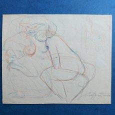 "Arte: EMILIA CASTAÑEDA"" BOCETO PERSONAJES"". Lote 283295678"