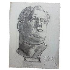 Arte: PINTORA MARIA CASTELLA, DIBUJO SOBRE PAPEL P.S.XX. Lote 284584943