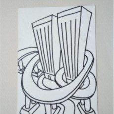 Arte: ALFREDO GARCÍA REVUELTA (MADRID 1961). DIBUJO ORIGINAL, 1987. Lote 285170153