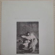 Arte: GOYA,LOS CAPRICHOS N.36 MALA NOCHE ,AGUAFUERTE ORIGINAL DIRECTO DE PLANCHA CON CERTIFICADO. Lote 286468248