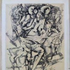 Arte: PEDRO QUETGLAS FERRER XAM DIBUJO PLUMILLA SOBRE PAPEL 1970 ARTE PINTURA BALEARES MALLORCA. Lote 286617768