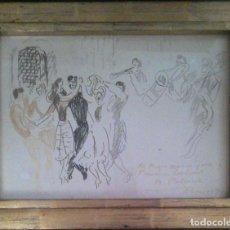 Arte: BENJAMÍN PALENCIA PÉREZ- BAILE FESTIVO-. Lote 287439768