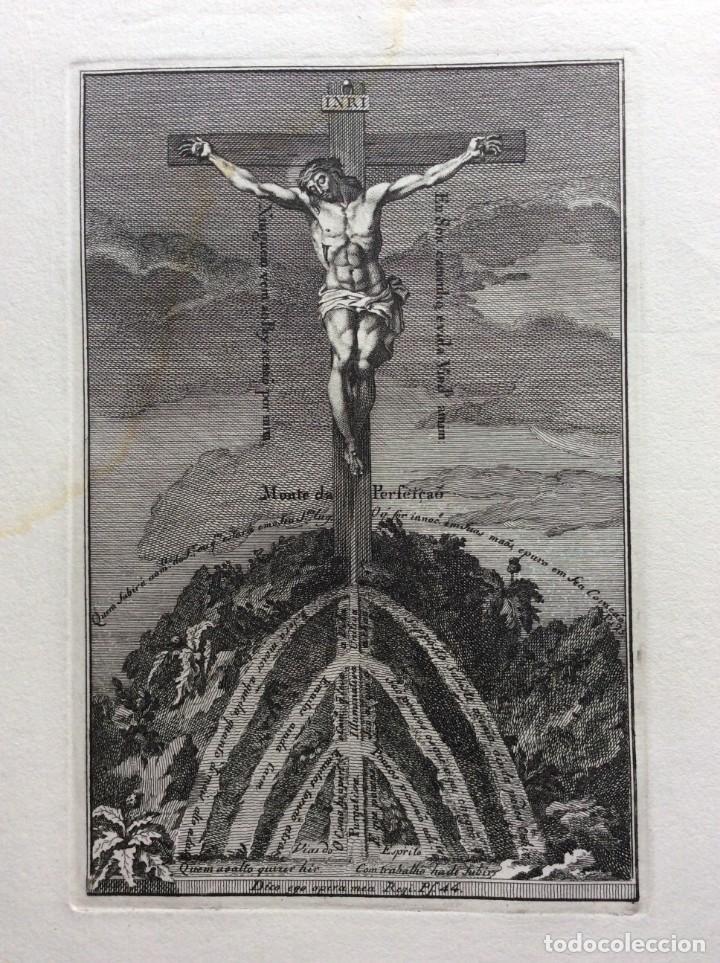 MONTE DA PERFEIÇÃO. DIMENS. 18, 5 X 27,5 CM. SALIDA A 0.01€ (Arte - Dibujos - Antiguos hasta el siglo XVIII)