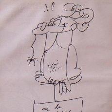 Arte: MORTADELO Y FILEMON. DIBUJO ORIGINAL Y DEDICATORIA FRANCISCO IBAÑÉZ. SUPER HUMOR 20. 1995. 1ª EDIC.. Lote 287896558