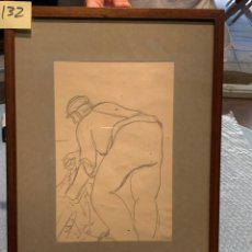 Arte: RICART OBRA ORIGINAL DIBUJO. Lote 287905963