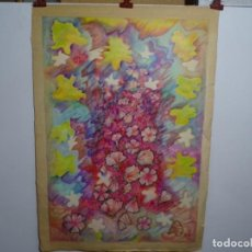 Arte: GRAN DIBUJO A COLORES FIRMADO M.D.F.. Lote 288106678