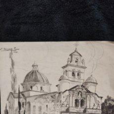 Arte: DIBUJO ORIGINAL, N.DELGADO 1920. PUBLICADO POR SALVAT. Lote 288622448
