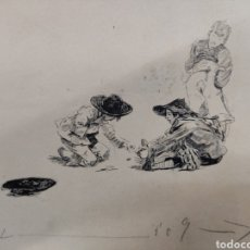 Arte: DIBUJO ORIGINAL, 23CM X18 CM.. Lote 288623233