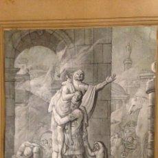 Arte: GREGORIO DE FERRARI. ENEAS PORTANDO A SU PADRE ANQUISES. Lote 289352728