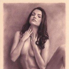 Arte: DIBUJO ARTÍSTICO DESNUDO ERÓTICO PIN UP POLONIA. Lote 289545668