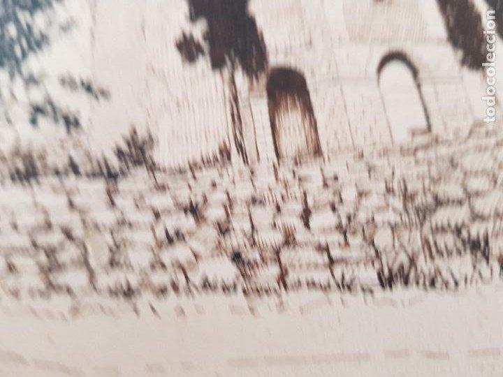 Arte: ERMITA DE SAN MIGUEL- ASCO TARRAGONA FIRMADO R.SUAREZ 1940 - Foto 3 - 289602978