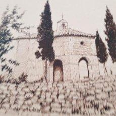 Arte: ERMITA DE SAN MIGUEL- ASCO TARRAGONA FIRMADO R.SUAREZ 1940. Lote 289602978