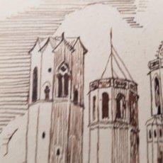 Arte: ALGUN PUEBLO DE TARRAGONA FIRMADO R.SUAREZ 21-1.39. Lote 289603758