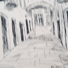 Arte: ALGUN PUEBLO DE TARRAGONA FIRMADO JUAN SUAREZ 1939. Lote 289603913