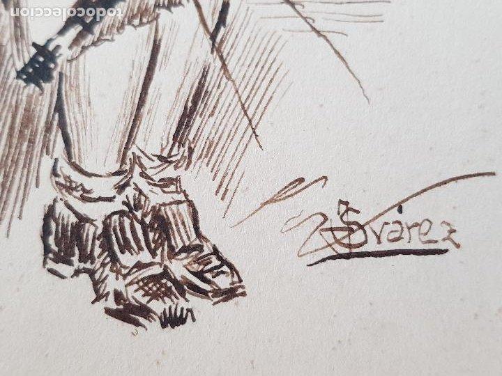 Arte: MUJER AMA DE CASA FIRMADO JUAN SUAREZ - Foto 3 - 289604188