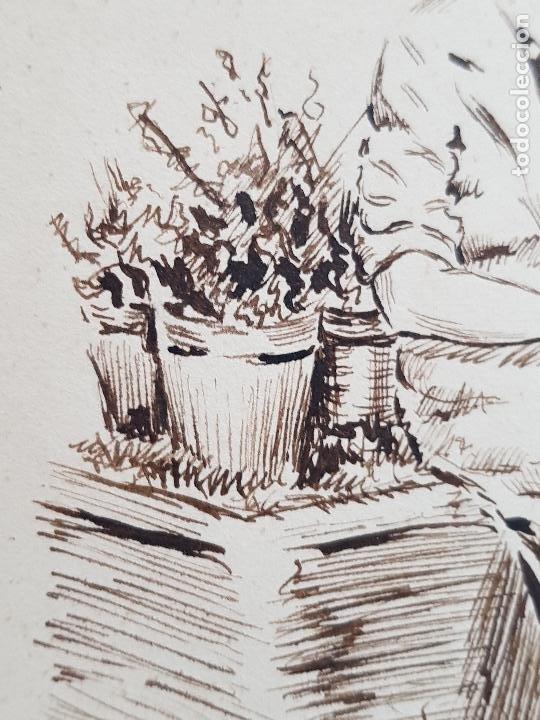 Arte: MUJER AMA DE CASA FIRMADO JUAN SUAREZ - Foto 4 - 289604188