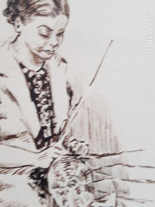 Arte: MUJER AMA DE CASA FIRMADO JUAN SUAREZ - Foto 5 - 289604188