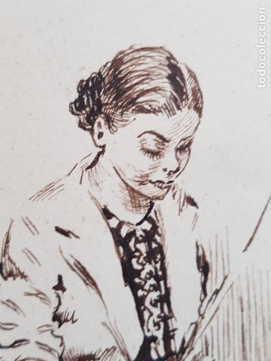 Arte: MUJER AMA DE CASA FIRMADO JUAN SUAREZ - Foto 6 - 289604188