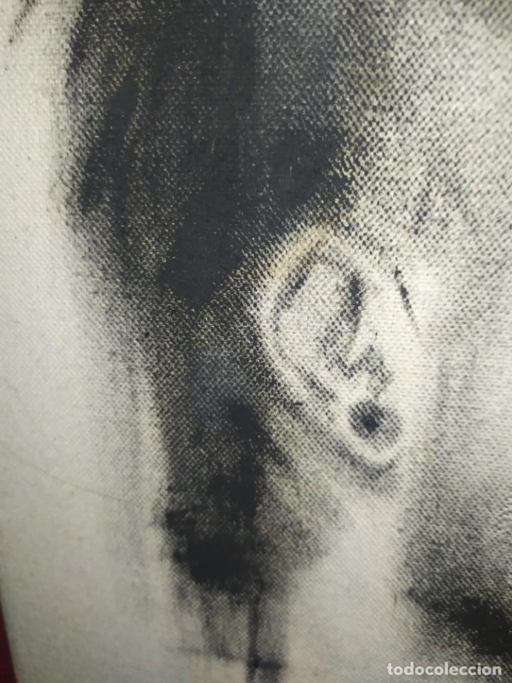 Arte: DIBUJO SOBRE LIENZO CHICO GUAPO HOMBRE ATRACTIVO SIN FIRMA RESTAURAR RASGADO AGRADECE INFORMACIÓ - Foto 7 - 289604893