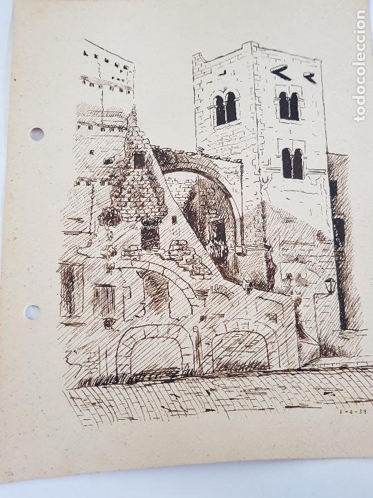 Arte: PUEBLO DE TARRAGONA FIRMADO SUAREZ 1-2 39 - Foto 6 - 289605938