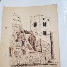 Arte: PUEBLO DE TARRAGONA FIRMADO SUAREZ 1-2 39. Lote 289605938