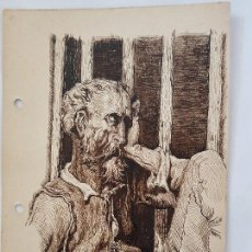 Arte: EL PENSADOR FIRMADO SUAREZ 1940. Lote 289606523