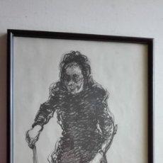 Arte: CUADRO PINTADO A ROTULADOR POR BALLESTER.. Lote 289816873