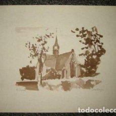 Arte: ST PANCRAS / DIBUJO ANTIGUO. Lote 289830678