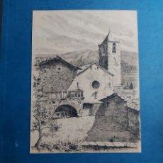 """Arte: MANUEL BORDALLO """"PAISAJE ORIGINAL DE SETCASES"""". Lote 292233533"""