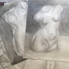 Arte: LOTE DIBUJOS CLARO OSCURO ÉPOCA CLÁSICA. Lote 293215248