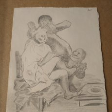 Arte: DIBUJO ANTIGUO. Lote 293278123