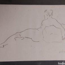Arte: DIBUJO DEL PINTOR JOSÉ OLASO. Lote 295503008