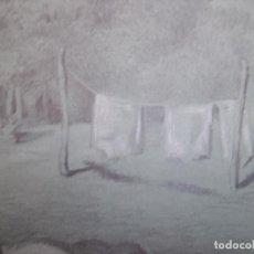Arte: FANTASTICO DIBUJO SIGLO XIX. Lote 295525528