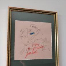 Arte: CY TWOMBLY DIBUJO SOBRE PAPEL. Lote 295819258