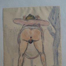 Arte: ANTIGUO DIBUJO CARICATURESCO XX. Lote 295987028
