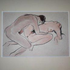 Arte: ACUARELA Y TINTA SOBRE PAPEL SIGLO XX. Lote 295990683