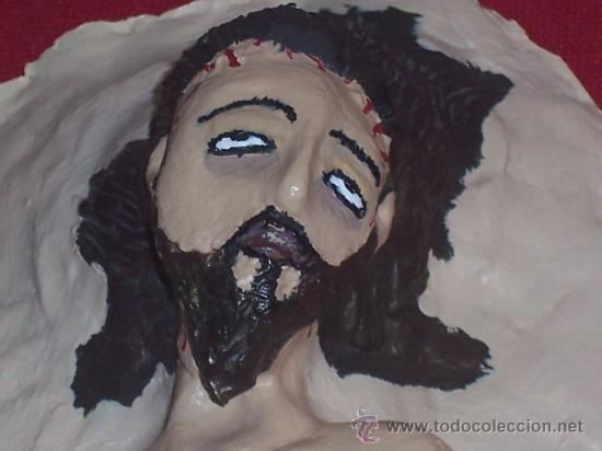 Arte: CRISTO YACENTE , REALIZADO A MANO EN ARCILLA ( PIEZA UNICA) - Foto 5 - 26135291