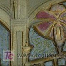 Arte: RELIEVE EN BARRO ESMALTADO MISTERI D´ELX. ELCHE. Lote 26587614