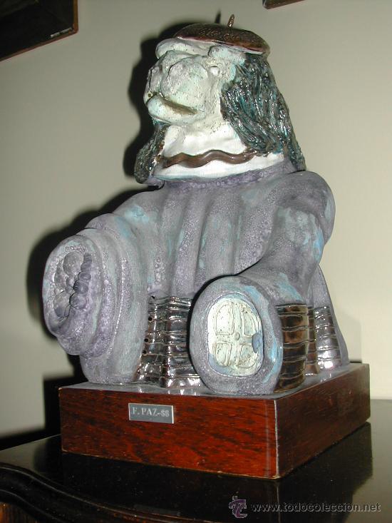 FIGURA TRIDIMENSIONAL (Arte - Escultura - Terracota )