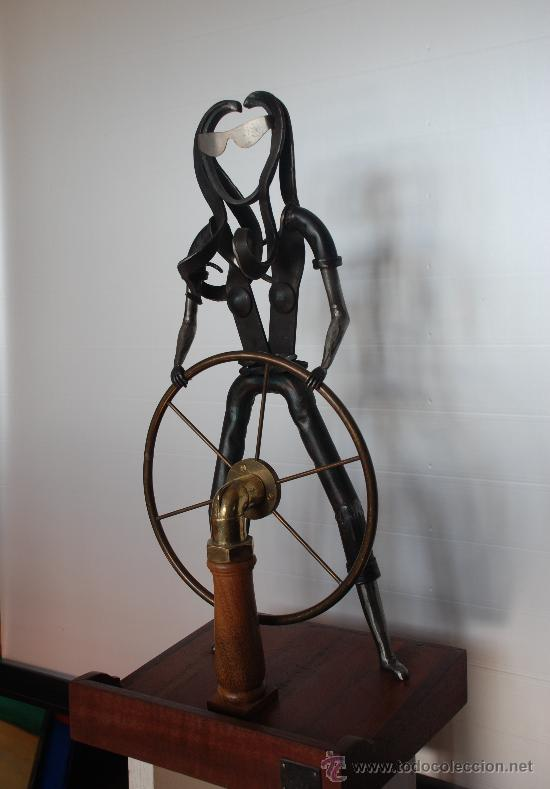 Arte: Escultura Navegando - Foto 3 - 27612565