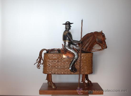 Arte: Escultura Picador con caballo haciendo la puerta. Torero, tauromaquia. - Foto 2 - 27638589