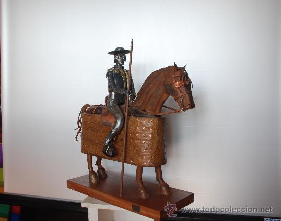 Arte: Escultura Picador con caballo haciendo la puerta. Torero, tauromaquia. - Foto 3 - 27638589