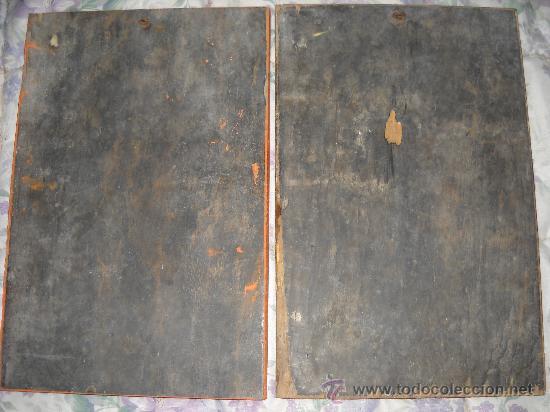 Arte: Antiguas tallas de madera de pared. 39x25 cm. - Foto 2 - 27183812