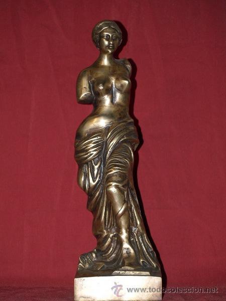 ESCULTURA CLÁSICA. BRONCE. ESPAÑA. CIRCA 1900 (Arte - Escultura - Bronce)